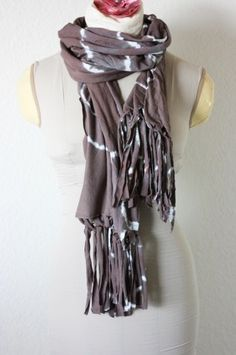 Tie-Dye Scarf Tutorial