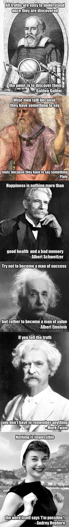 Good quotes by great minds�