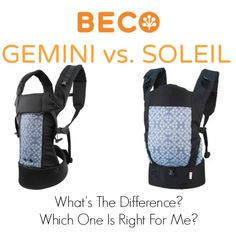 Beco Baby Carrier #babywearing