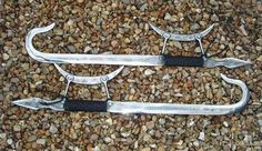 Chinese hook swords