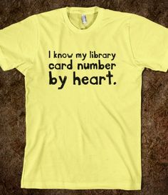 Um... truth :).   Library Card (without makeouts)