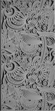from Cool Tools - a website that has so many texture tiles of all kinds as well as lots of shape sheets and other tools for use with polymer clay and pmc.