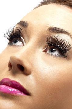 Faking It - How to Apply False Eyelashes  http://toyastales.blogspot.com/2013/02/faking-it-how-to-apply-false-eyelashes.html