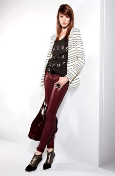 Patterson J. Kincaid Blazer, Zoe Karssen Tank & 7 For All Mankind® Jeans | #Nordstrom #falltrends