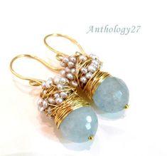 cluster earring, pattern, craft idea, wire tutorials, beading tutorials, diy, jewelri, twist wire, earrings