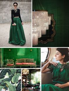 Emerald inspiration - from Julep