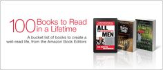 The 100 Books to Read Before You Die According to Amazon books, book worth, 100book, read, 100 book, amazon list, amazon 100, bucket lists, amazon book