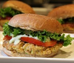 Vegetarian Chick Pea Burgers