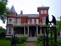 Stephen King's home!