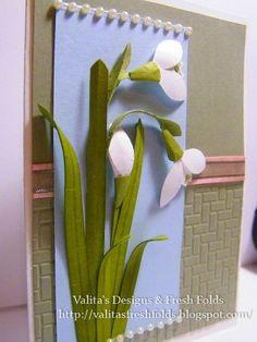 Diseños de Valita y pliegues frescos: flores de papel