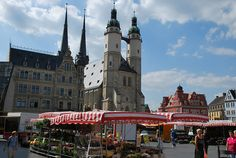 Vendors in the Marktplatz