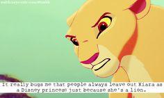 Kiara is a princess!!