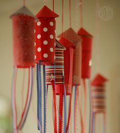 DIY Kids - Confetti Popper Rockets