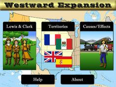 Understand the Westward Expansion with this app!