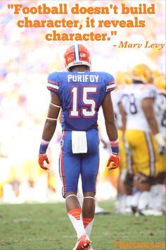 Florida Football's Loucheiz Purifoy