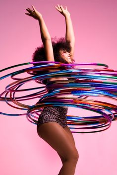 hula hooping!