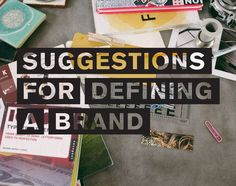 suggestions for defining a #brand by promise tangeman