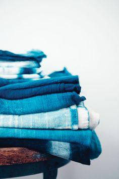 Shibori dyeing tutorial #indigo #textiles #blue #textures #shibori #tutorials