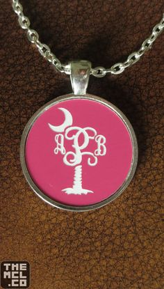 #Monogram #Necklace #Preppy #SouthernMonogramAndStitches #SterlingSilver