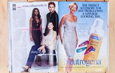 Because the things we loved the most about teen magazines were the questionable advice and Y2K-tinged advertising: http://www.thecoveteur.com/90s-teen-magazines