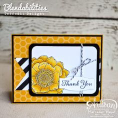 Stampin Up Artisan Wednesday Wow- Back with more Blendabilties | Creations by Mercedes Weber