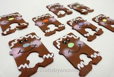 Make Bread Tag Gingerbread Men