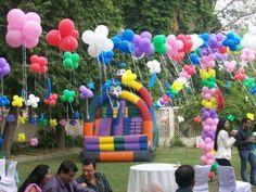 Birthday Balloon Decoration Art