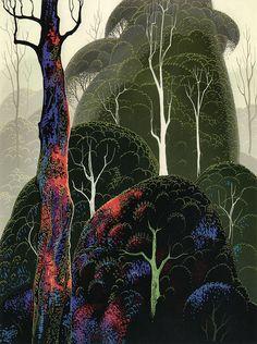 Eyvind Earle: Early Autumn.