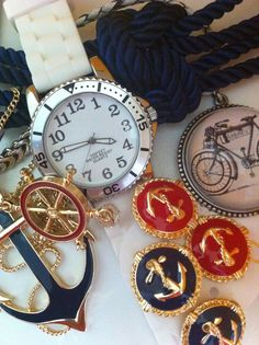Nautical jewelry makes a very powerful statement!