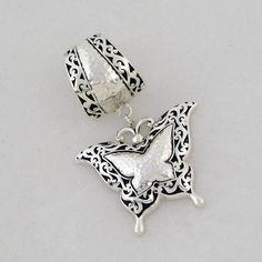 scarf jewelry, pendants, style, butterflies, scarves