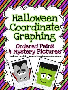 Halloween plotting ordered pairs on a coordinate graph!!! Super fun, AND your kids are still covering Common Core Math standards!!!