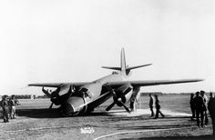 Martin B-26 Marauder  December 11, 1941 - This Martin B-26 was damaged at Langley Field during some NACA tests. The accident occurred as a result of failure of the nose wheel to extend.