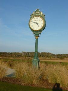 Rolex on the Ocean Course, golf course on Kiawah Island, South Carolina.