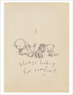 always looking for comfort by kurt halsey