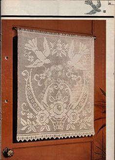 Lovely filet curtain