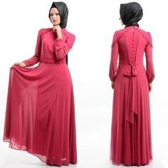 Puane - Fuşya Elbise 259,90 TL den 179,90 TL ye düştü. 100 tl ve üzeri Tüm alışverişlerde !! KARGO BEDAVA !! Ürün Kodu:4364F  Beden seçenekleri : 38-42-44 Ürünün renk ve bedenlerini incelemek,sipariş vermek için linke tıklayınız: www.tesetturisland.com  #tesetturgiyim #hijab #tesetturisland #dress #pudra #beyaz