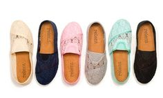 Groupon - Relent Women's Lace Slip-On Flats in [missing {{location}} value]. Groupon deal price: $11.93