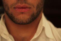 Dear God, Thank you for men with dark hair and facial hair.