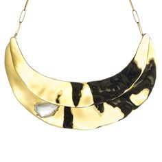 Bel Air Gold Layered Collar :: Necklaces :: Jewelry By Category :: Alexis Bittar