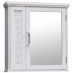Greek Key Medicine Cabinet - New medicine cabinet for our main flr bath!