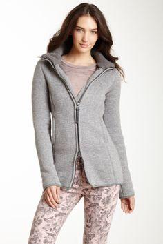 Fleece Lined Zip Sweater
