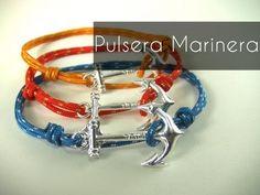 ▶ Manualidades DIY - Pulsera Marinera - YouTube