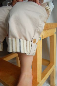 boys pants tutorial with size three pattern