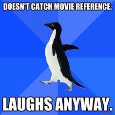 awkward penguin, hate meme