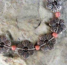 Fun flower necklace