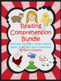 Thanks to everyone who entered this Giveaway. If you missed it, this BUNDLE is on SALE now from 8-22-14 to 8-25-14.  25% OFF the already discounted BUNDLE price. Reading Comprehension Bundle - This 151 page reading comprehension bundle is designed so that you can copy the book, cut it in half, staple, and then it is ready for use.Each of the 9 stories includes a title page.