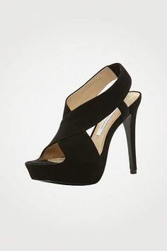Zia II in black suede, Fall 2012: Rendez-vous #shoes