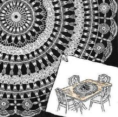 Large Table Doily