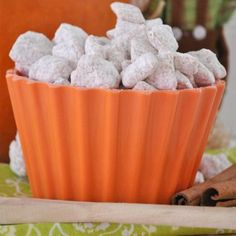 Pumpkin Pie Muddy Buddies