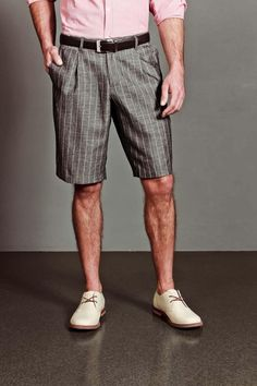 Carapace Stripe Short Grey